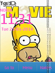 The Simpsons 15 theme screenshot