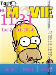 Capture d'écran The Simpsons 15 thème