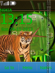 Tiger 56 theme screenshot