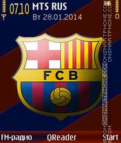Скриншот темы Barcelona