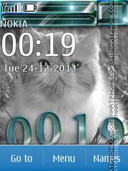 Скриншот темы Cat 22