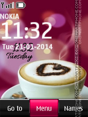 Latte Art - Heart Coffee Design tema screenshot