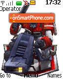 Capture d'écran Optimusprime thème