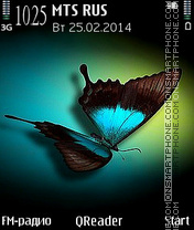 B_Fly theme screenshot