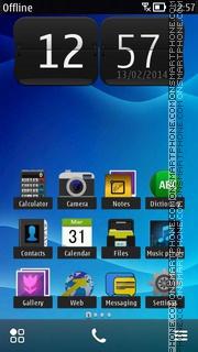 Dark Blue 04 es el tema de pantalla