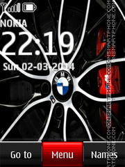 Bmw Rims Accessories theme screenshot