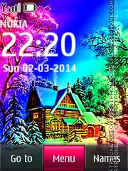 Winter House 01 theme screenshot
