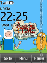 Adventure Time 02 theme screenshot