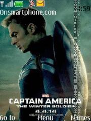 Captain America theme screenshot