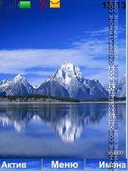 Mountains tema screenshot