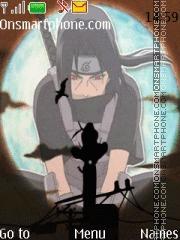 Itachi Uchiha theme screenshot