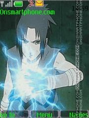Sasuke Uchiha Theme-Screenshot