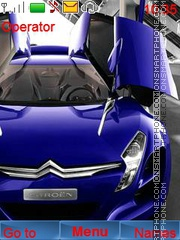 Citroen Cars theme screenshot