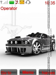 Mustang Gat tema screenshot