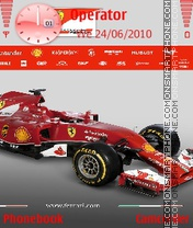 Ferrari theme screenshot