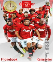 Real United theme screenshot