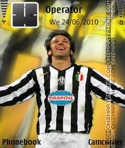 Capture d'écran Del-Piero thème