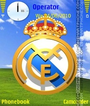 Real Madrid Color theme screenshot