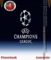 Скриншот темы Champions League