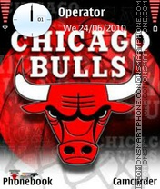 Chicago Bulls theme screenshot