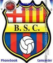Barcelona Theme-Screenshot