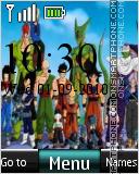 Dragon Ball Z 04 theme screenshot