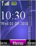 Xperia Z2 Digital Theme-Screenshot