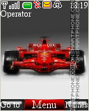 Ferrari Formula 1 theme screenshot