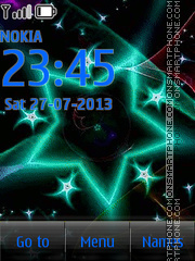 Star Neon Sign theme screenshot