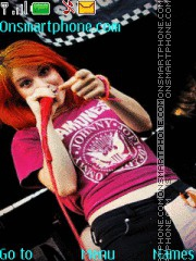 Hayley Williams tema screenshot