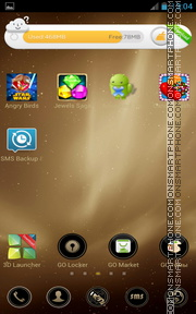 Beautiful Gold es el tema de pantalla
