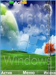 Windows es el tema de pantalla