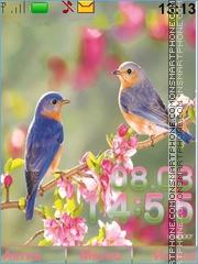 Скриншот темы Birds
