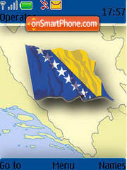Bosna I Hercegovina theme screenshot