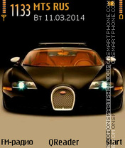Bugatti theme screenshot