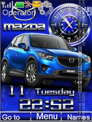 Mazda CX5 tema screenshot