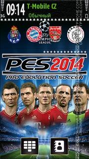 Pro Evolution Soccer 2014 theme screenshot