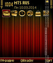 G Gold theme screenshot