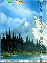 Скриншот темы Mountains