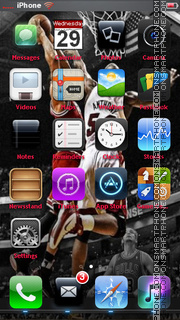 Derrick Rose - Chicago Bulls theme screenshot