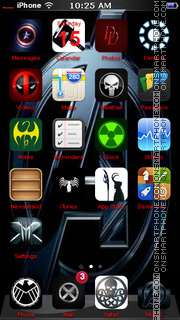 Avengers 02 theme screenshot
