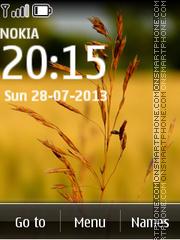 Meadow Grass tema screenshot