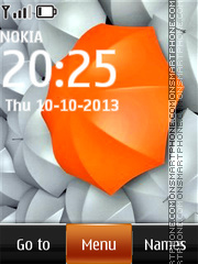 Orange Umbrella theme screenshot