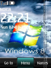 Windows 8 21 theme screenshot