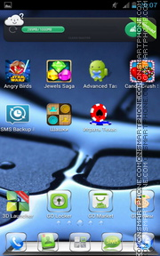 Glass 06 tema screenshot