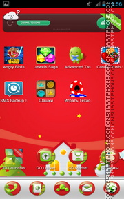 Christmas and New Year 01 tema screenshot