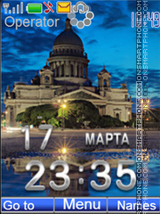 St.Petersburg tema screenshot