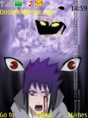 Sasuke Susano Naruto theme screenshot