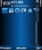 Comfort theme screenshot