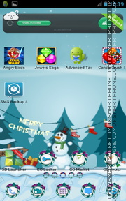 Nice Merry Christmas tema screenshot